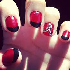 30 best bama nails images on pinterest alabama nails roll tide