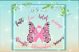 breast cancer butterfly butterfly svg design bundles