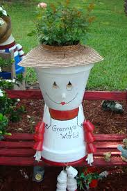 26 best my crafts images on pinterest clay pots yards and the top