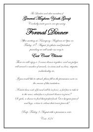 formal luncheon invitation dinner invitation email template formal dinner invitation email