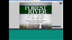 forest river interactive online owner u0027s manual demo youtube