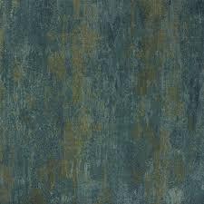 Muster Blau Grün Rasch Tapeten Blau Olegoff