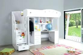 lit superpos bureau lit superpose combine bureau mezzanine et armoire mimi bim a co