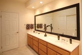 peachy design ideas frame bathroom mirror kit how to a hgtv home