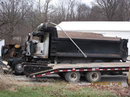 2016 kenworth cabover you can this burnt out black kenworth t800 dump truck north of