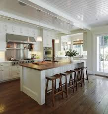 Traditional Kitchens With Islands Engineered Hardwood Vs Laminate For A Traditional Kitchen With A