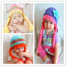 Cabbage Patch Kids Halloween Costume Aliexpress Buy Crochet Baby Hat Cabbage Patch Wig