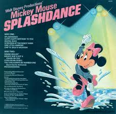mickey mouse photo album mickey mouse splashdance by disneyland records mousevinyl