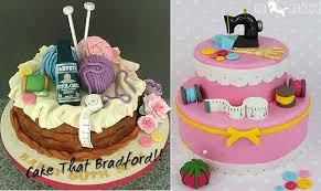cakes for sewing knitting crafting cakes cake magazine