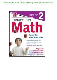 mcgraw hill math grade 2 study guide pdf download copy by