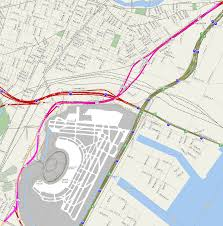 Mapquest Maps Map Of The Pulaski Skyway Approach Us 1 U00269