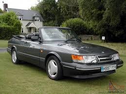 1991 saab 900 turbo 16s convertible auto