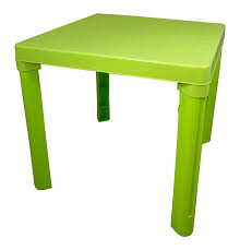 children s outdoor table and chairs high quality green kids children plastic table home garden picnic
