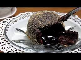 how to no bake chocolate molten lava cake youtube