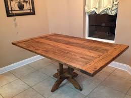 Country Kitchen Table And Chairs - kitchen awesome handmade dining table black kitchen table
