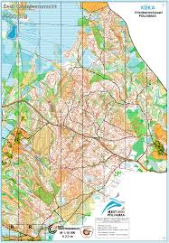Coverage Map Sprint Woc 2017 Selection Races For Many Nations In Estonia This Weekend