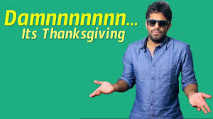damnnnnnnn its thanksgiving chicago subbarao