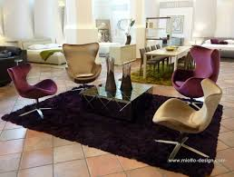 Lydia Black Leather Chrome Chairs Miotto Poeti Chair Black White Purple Pinterest Purple