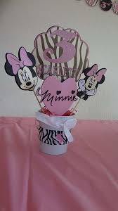 minnie mouse and zebra print birthday party ideas photo 2 of 8