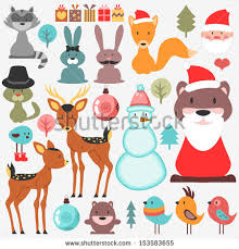 lovely christmas theme vector free vector in encapsulated