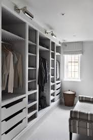 Open Shelves Under Cabinets Adding A Walk In Closet To A Bedroom Dark Brown Finish Oak