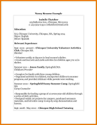 6 nanny resume examples assistant cover letter