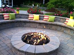 Stone Patio With Fire Pit Outdoor Patio Propane Fire Pit Outdoor Stone Patio Fire Pit