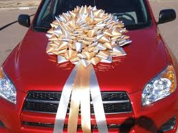 big bow for car present big graduation bows for cars and big gifts