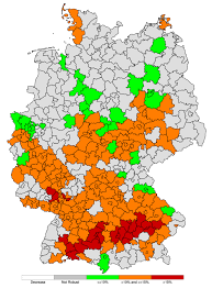 map of regions of germany climate signal maps regional climate service center germany