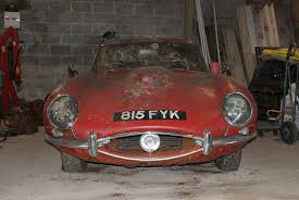 lexus hedge end used cars jaguar e type found under a hedge sells for 58 000 by car magazine