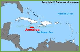 carribbean map location on the caribbean map