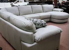 Natuzzi Sleeper Sofa Satiating Photograph Of Chenille Sectional Sofa With Ottoman Next