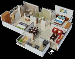 best 2 bhk home design sophisticated 2bhk home design plans indian style 3d gallery