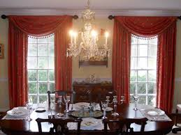 Dining Room Drapes Top Window Treatment Hang Tied Drapes Using Doorknobs Floral Sofas