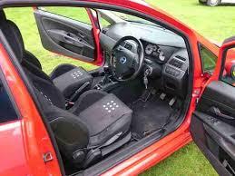 Grande Punto Interior Fiat 2006 Grande Punto Sporting Multijet Red 1 9tdi Low Miles