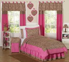 Cheetah Print Comforter Queen Cheetah Pink Animal Print Bedding Set 3 Piece Full Queen Size By