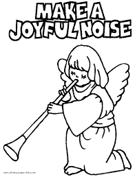 angel color pages joyful christmas angel color page christmas coloring pages