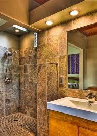 open shower bathroom design photo of good open shower bathroom