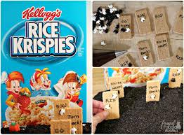 frugal foodie mama haunted graveyard rice krispies treats