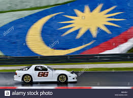 Rx7 2016 Mac Chung Jin Driving The 66 Mazda Rx7 On Track During The Asia