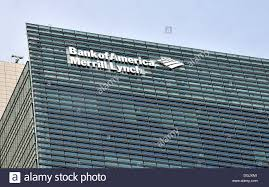 bank of america merry lynch tokyo japan stock photo royalty free