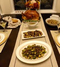 how to make a thanksgiving turkey with stuffing cheesecloth roasted turkey with homemade turkey stock gravy and