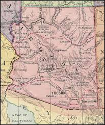 Map Of Tucson High Chaparral Map 1885