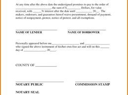 26 promissory letter template promissory note template 10