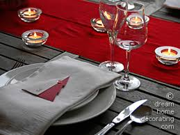 red and silver christmas table settings silver walnut christmas tree centrepiece