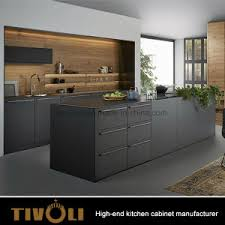 china gloss mdf wood veneer kitchen cabinet for modern apartment