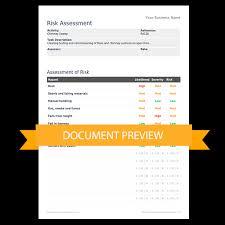 manufacturing risk assessment template risk assessment templates darley pcm