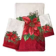 christmas towels buy christmas bath towels from bed bath beyond
