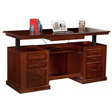 Hydraulic Desk Sit Stand Executive Desk