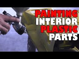 Paint For Car Interior Painting Interior Plastic Parts Youtube